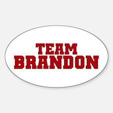 Col Brandon Oval Decal
