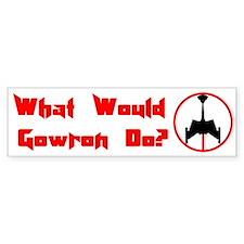 Gowron D7 Bumper Car Sticker