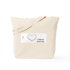 I heart Shar Peis Tote Bag