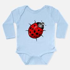 Ladybug Long Sleeve Infant Bodysuit