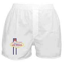 Welcome to Las Vegas Boxer Shorts