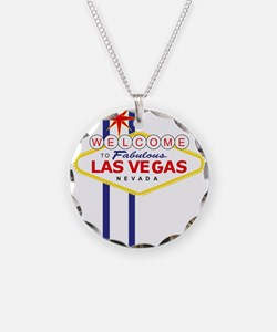 Welcome to Las Vegas Necklace