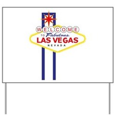 Welcome to Las Vegas Yard Sign