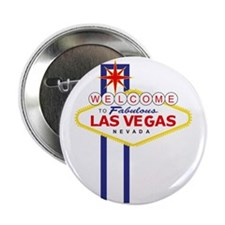 "Welcome to Las Vegas 2.25"" Button"