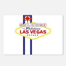 Welcome to Las Vegas Postcards (Package of 8)