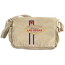 Welcome to Las Vegas Messenger Bag