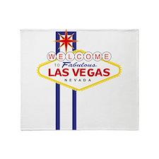 Welcome to Las Vegas Throw Blanket