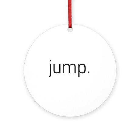 Jump Ornament (Round)