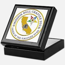 Custom Mission Bell OES Keepsake Box