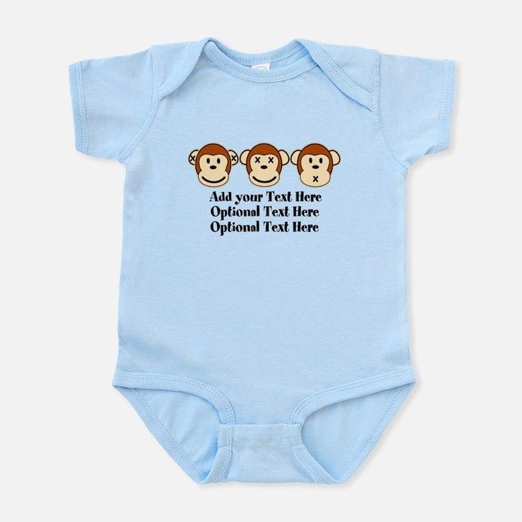 Three Monkeys Design Infant Bodysuit