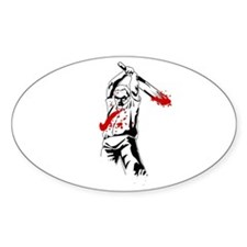 Kill The Zombies Stickers