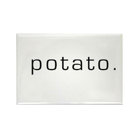 Potato Rectangle Magnet