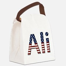 Ali Canvas Lunch Bag