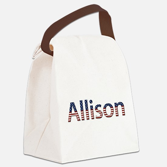 Allison Canvas Lunch Bag