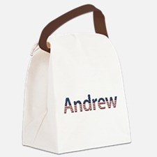 Andrew Canvas Lunch Bag