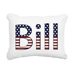 Bill Rectangular Canvas Pillow