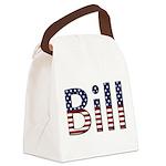 Bill Canvas Lunch Bag