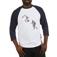 Cricket Bat Zombies Baseball Jersey