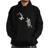 Cricket Bat Zombies Hoodie (dark)