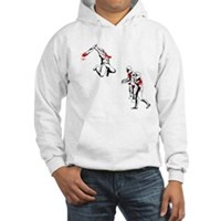 Cricket Bat Zombies Hooded Sweatshirt