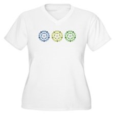 Three Yorkshire Roses T-Shirt