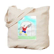 Soccer Eagle Tote Bag