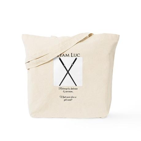 Team Luc Tote Bag