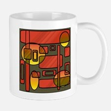 Retro Geometry Mug