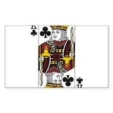King of Clubs Decal