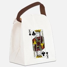 King of Clubs Canvas Lunch Bag