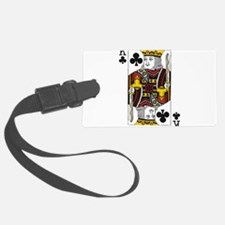 King of Clubs Luggage Tag