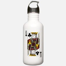 King of Clubs Sports Water Bottle