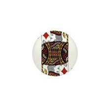 King of Diamonds Mini Button