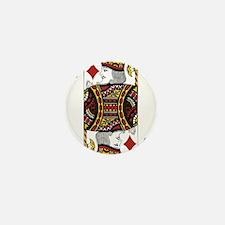 King of Diamonds Mini Button