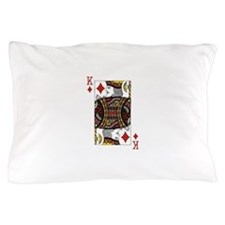 King of Diamonds Pillow Case