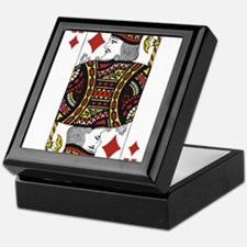 King of Diamonds Keepsake Box