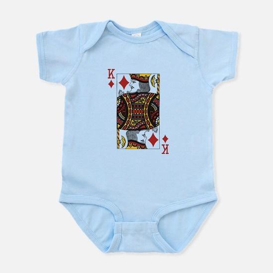 King of Diamonds Infant Bodysuit