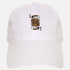 King of Spades Baseball Baseball Cap