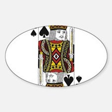 King of Spades Decal