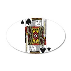 King of Spades Wall Decal