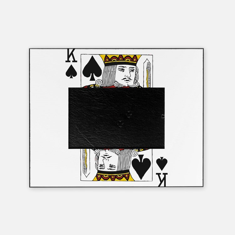 king of spades picture frame