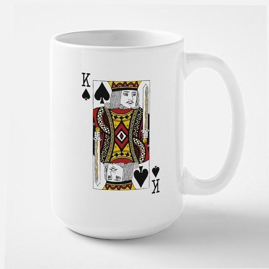 King of Spades Large Mug