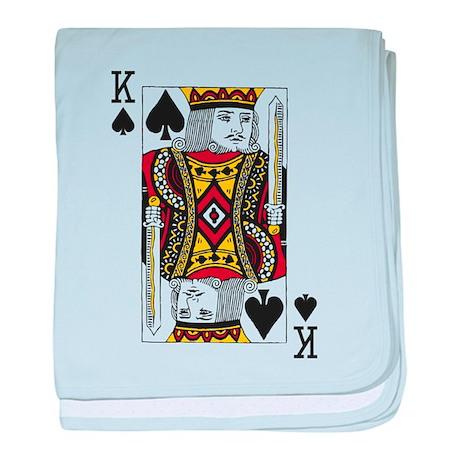 King of Spades baby blanket