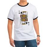 King of spades Ringer T