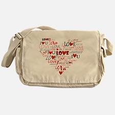 Love Heart Messenger Bag
