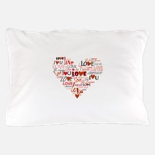 Love Heart Pillow Case