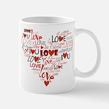 Love Heart Small Small Mug