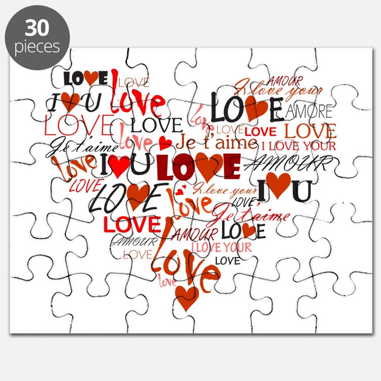 Love Heart Puzzle