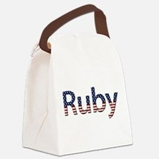 Ruby Canvas Lunch Bag