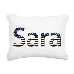 Sara Rectangular Canvas Pillow